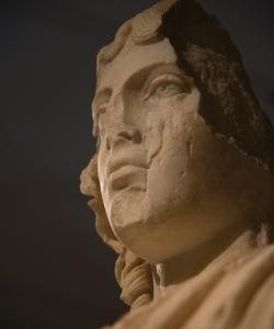 Ancient Faces. Photograph © Mauro Benedetti.