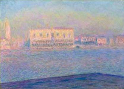 Monet The Doge's Palace