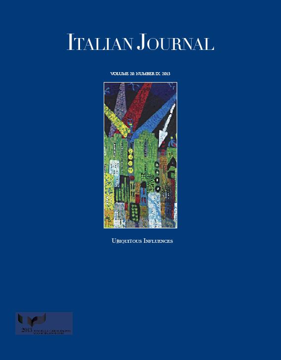 Italian Journal 9, Ubiquitous Influences