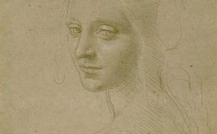 Head of a Young Woman - da Vinci