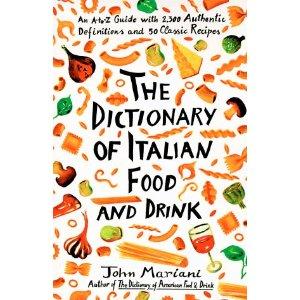 Mariani- The Dictionary of Italian Food & Drink $35.15