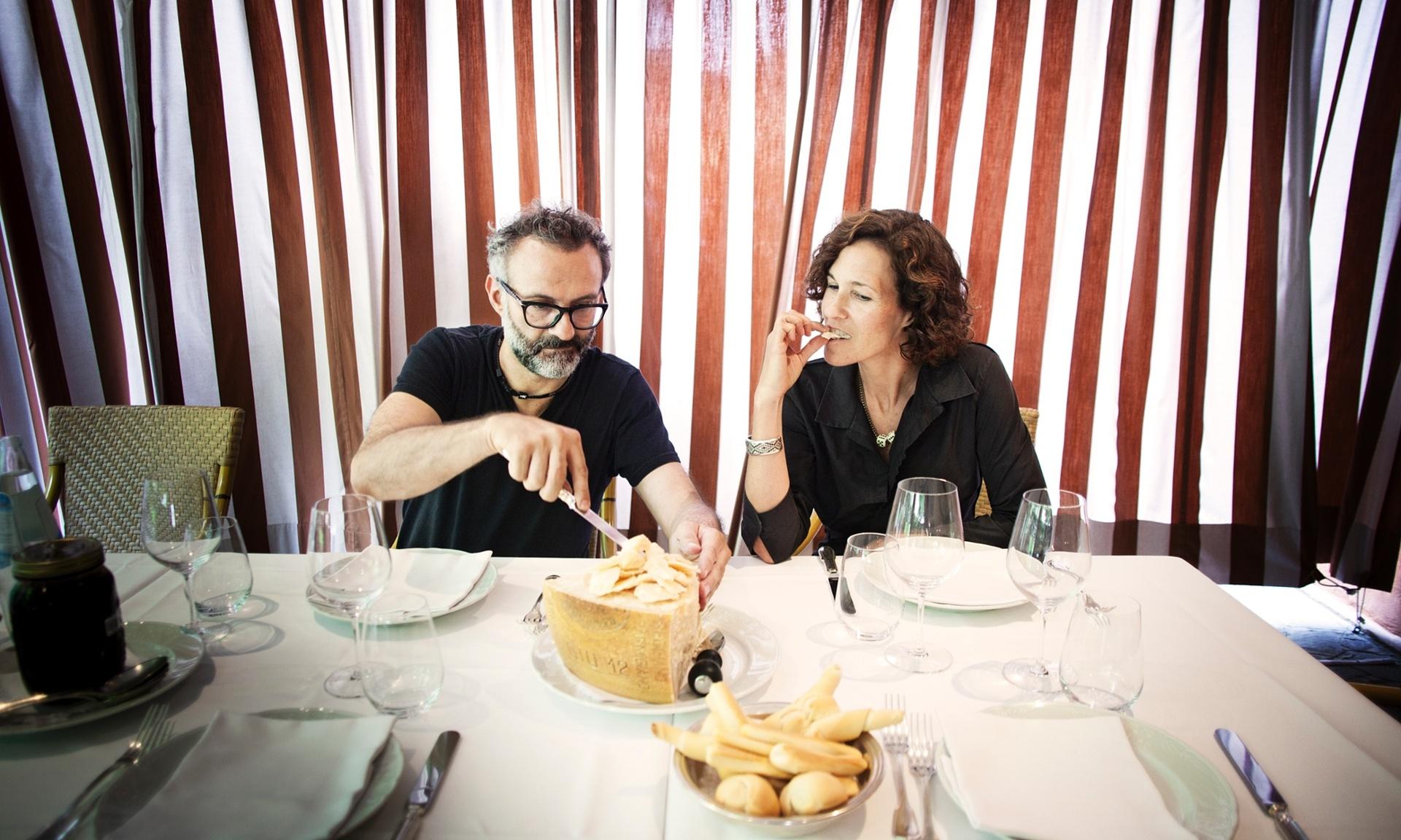 Gaurdian- Lunch with his wife Lara